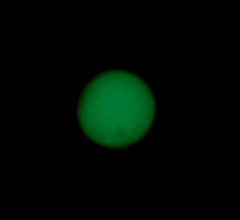 Une tache solaire géante visible à l'oeil nu: la monstrueuse AR12192