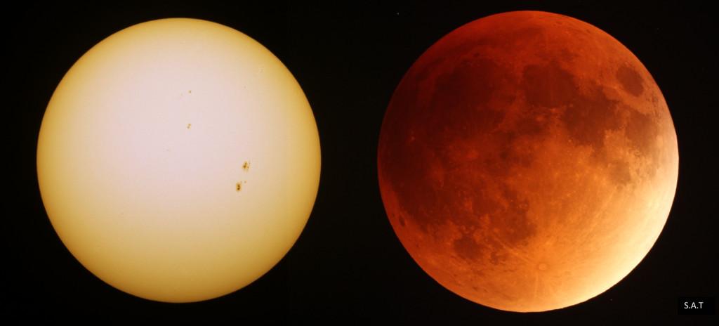 Soleil et Lune éclipsée sm