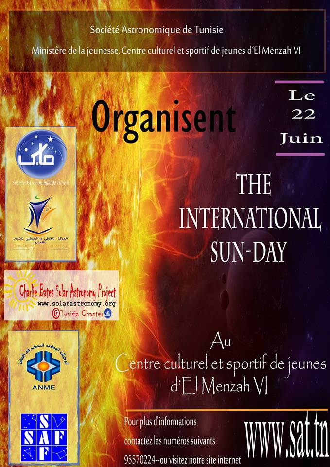 La journée internationale de Soleil – Tunisie