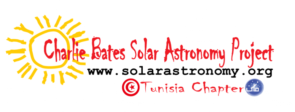 Charlie Bates Solar Astronomy Project Tunisia Chapter - Logo